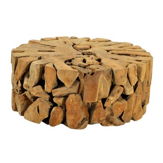 Teak Wood Root Coffee Table