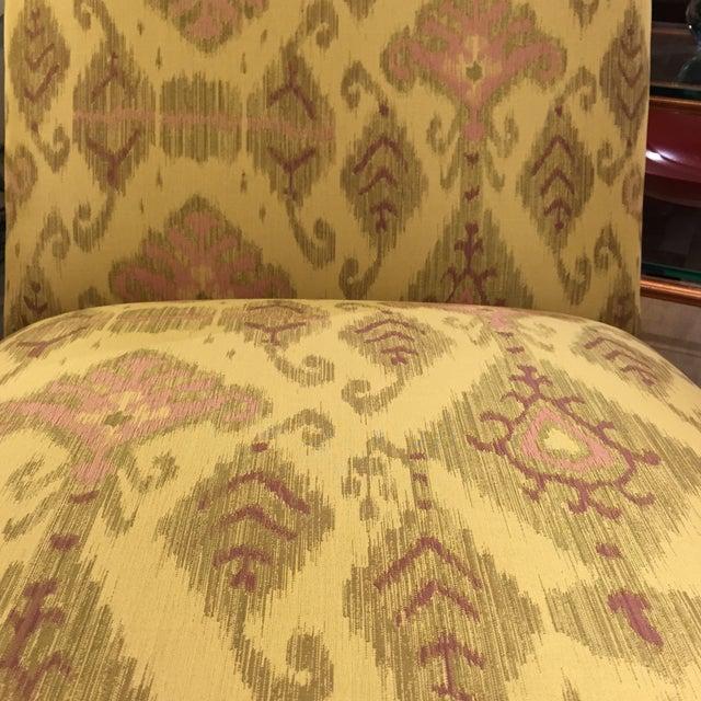 Donghia Villa Custom Ikat Chair - Image 10 of 11
