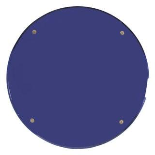 Cobalt Blue Art Deco Mirror