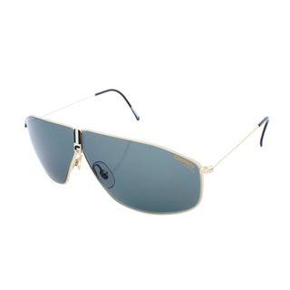 Carrera Rectangular Gold Wireframe Sunglasses