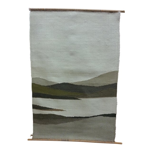 Image of Woven Mountain Landscape Wool