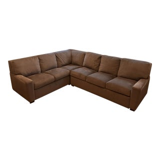 American Leather Sectional Queen Plus Sleeper (2 Sofas!)