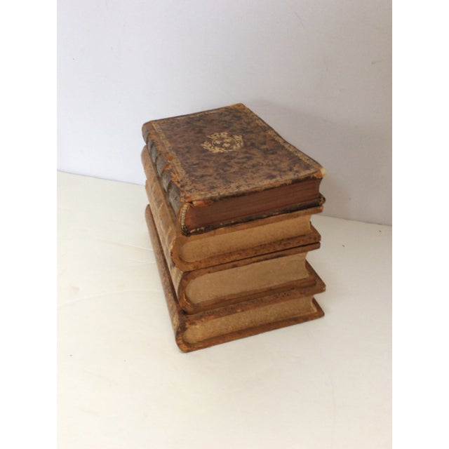 Stack of Books Leather Box - Image 8 of 8
