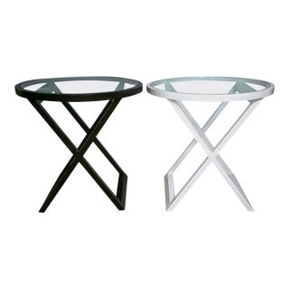 Mercer Street Lacquered Tables - A Pair