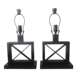 Restoration Hardware Table Lamps - A Pair