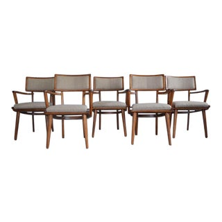 Mid Century Ash Chairs - Set of 5