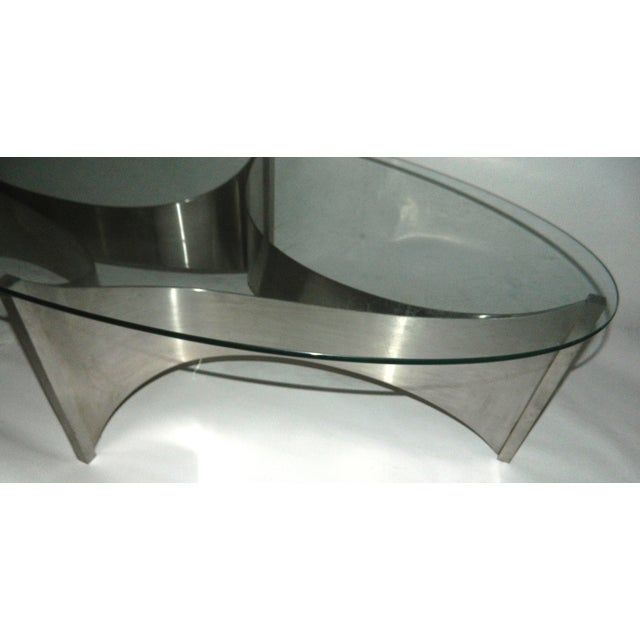 """Maison Charles """"Voiles"""" Coffee Table - Image 3 of 5"""