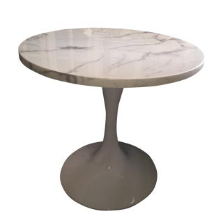 Brickell Collection Round Marble Dining Table
