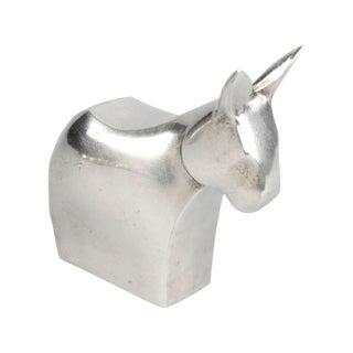 Signed Dansk Design Donkey Paperweight