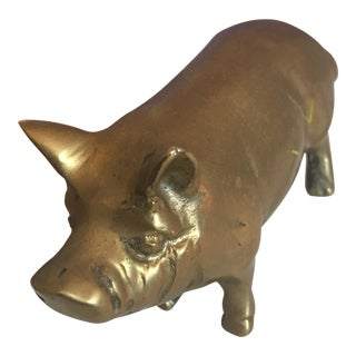 Brass Pig