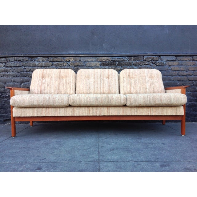 Mid Century Danish Teak Sofa - Image 2 of 8