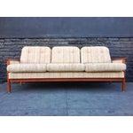 Image of Mid Century Danish Teak Sofa