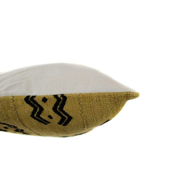 Golden Mud Cloth Pillow - Image 2 of 2