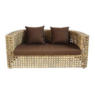 Outdoor Faux Rattan Sofa