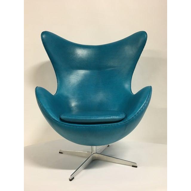 Fritz Hansen Arne Jacobsen Egg Chair - Image 3 of 7