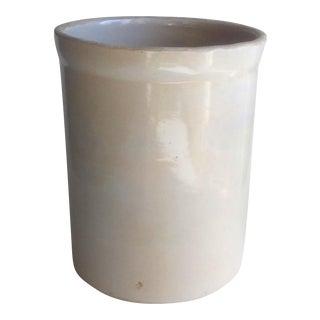 Vintage Utility Stoneware Crock #3 USA Country
