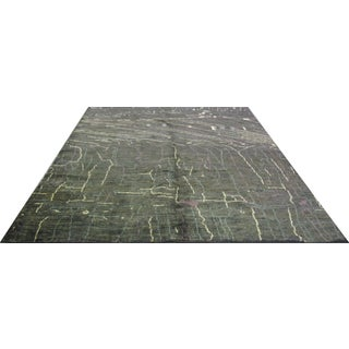Indian Natural Hemp Rug - 8′ × 9′10″