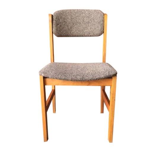 vintage danish style teak dining chair chairish