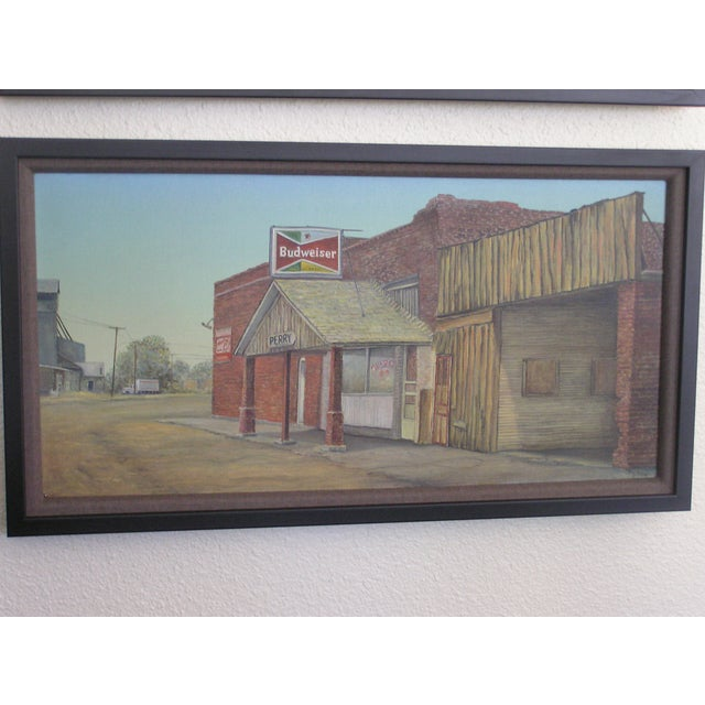 Dyckie Wallace Original Painting, 1950's - Image 2 of 4