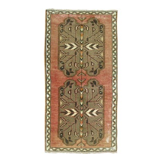 Turkish Anatolian Rug- 1'9'' x 3'4''