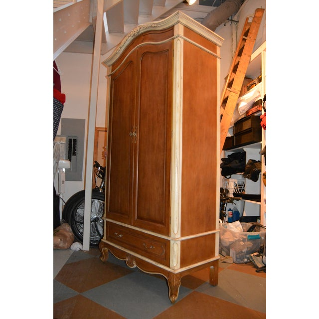French Heritage Wooden Laon Armoire - Image 11 of 11