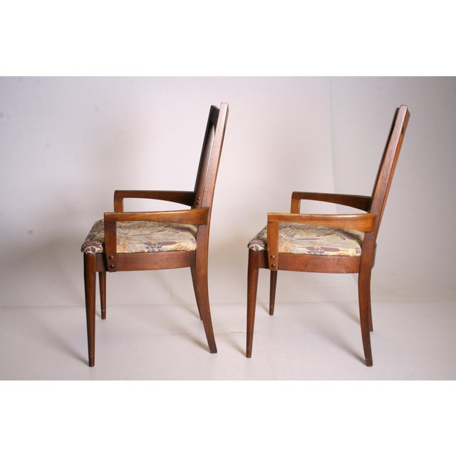 Mid Century Modern Broyhill Brasilia Dining Chairs - A Pair - Image 6 of 11