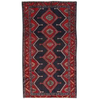 """Vintage Hamadan Wool Area Rug - 4'9"""" X 8'9"""""""