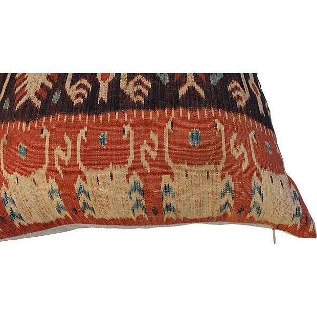 Image of French Ikat Woven Pillows - Pair