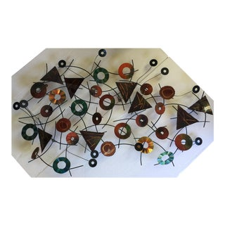 Curtis Jere Wall Sculpture