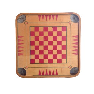 Vintage Wood Game Board