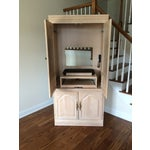 Image of Entertainment Center W/Cabinet Pull Out Drawers