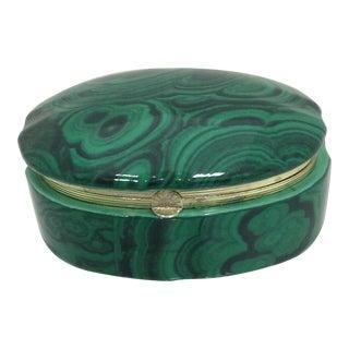 Fredrick Cooper Style Faux Malachite Box