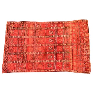 Hand Knotted Rug from Tunisia - 5′ × 8′1″