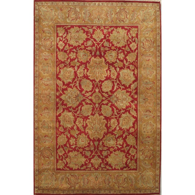 Image of Pasargad Agra Collection Traditional Rug - 6'x9'