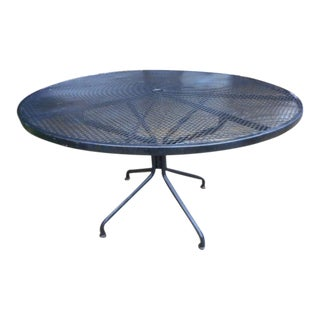 Russell Woodard Wrought Iron Patio Table