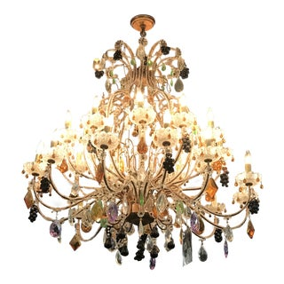 "Colorful Fruit ""Murano"" Chandelier"