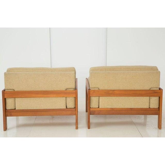 Image of Bramin Teak Lounge Chairs - A Pair