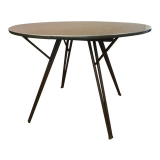 Atomic Retro Modern Formica Top Dining Table