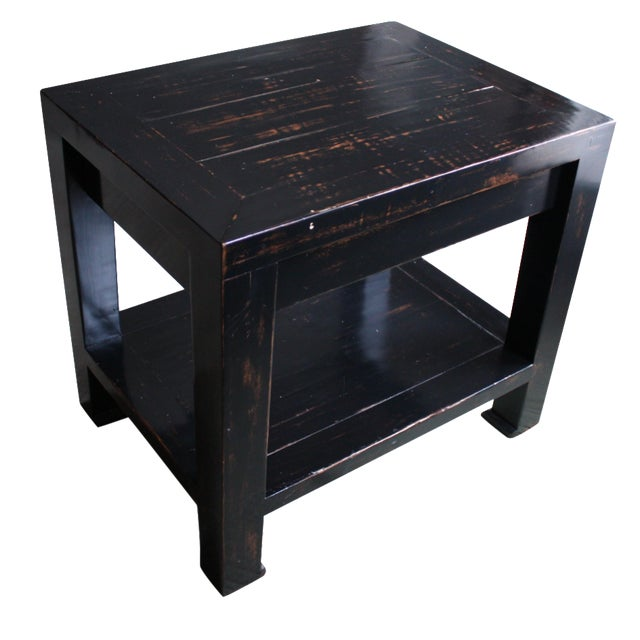 Honduran Mahogany Side Table - Image 1 of 5
