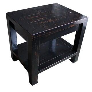 Honduran Mahogany Side Table
