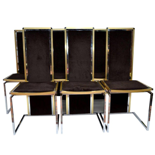 rome rega set of six dining room chairs image 1 of 10 - Set Of Six Dining Room Chairs