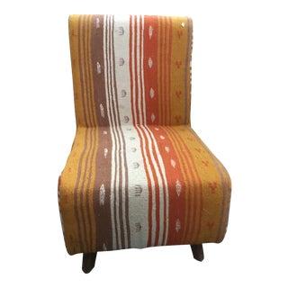 Handmade Kilim Chair From Tunisia