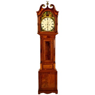18th Century Federalist Period Tall Case Clock