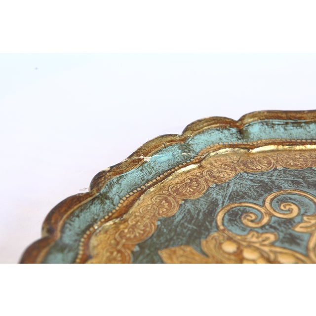 Vintage Florentine Tray - Image 7 of 7