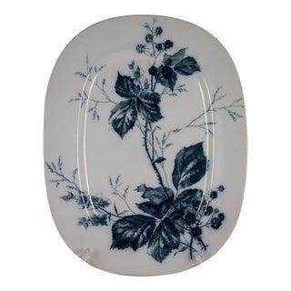 Villeroy & Boch Aesthetic Movement Rubus Mettlach Platter