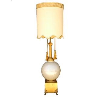 Mid Century Hollywood Regency Style Grand Lamp