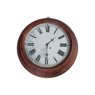 Antique Jerome & Co. Oversize Wall Clock