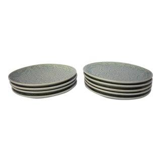 Thai Celadon Plates - S/9