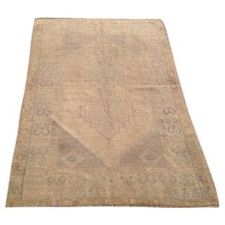 "Vintage Anatolian Rug - 3'11"" x 5'10"""