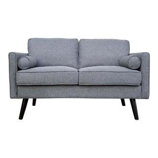 "Light Grey 1960's Style ""Stella"" Sofa"
